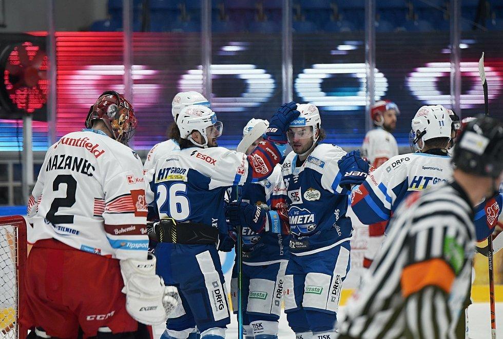 Hokejisté Komety přivítali v posledním utkání před reprezentační pauzou Hradec Králové.