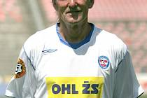 Trenér Josef Hron  - 1. FC Brno.