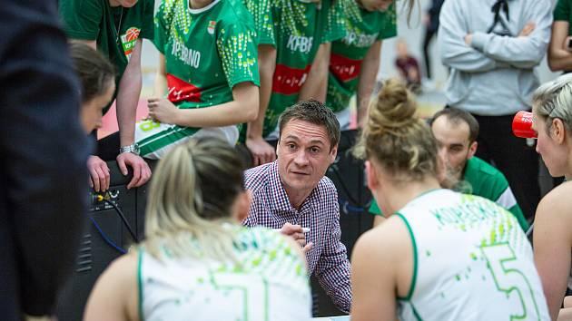 Trenér Martin Pospíšil. Ilustrační foto.