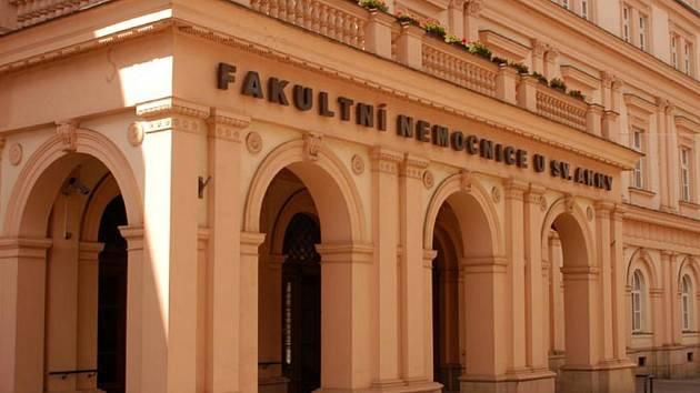 Fakultní nemocnice u svaté Anny.