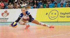V pouhých devatenácti letech si volejbalistka Nikola Vaňková splnila svůj dětský sen zahrát si na vrcholném turnaji.