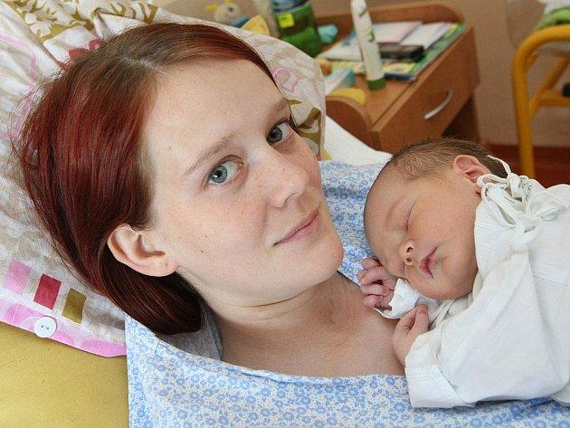 Tomáš Dresler ze Smolína nar. 28.5.2011 s maminkou Kateřinou