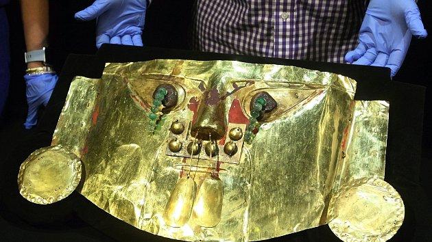 Do Brna přivezli vzácné korunovační klenoty Inků. Peruánci se jich bojí dotknout