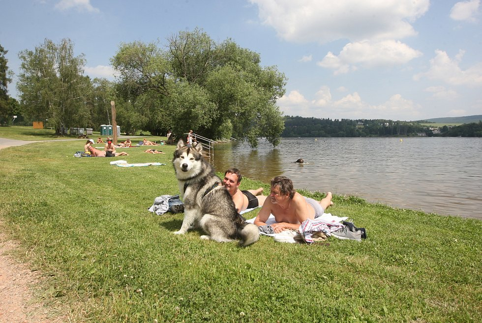Brněnská přehrada 14.6.2019