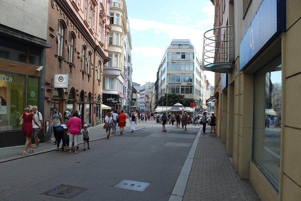 Už v říjnu se dělníci pustí do oprav kanalizace v samotném centru Brna. Rozkopou Českou, Solniční a Opletalovu ulici.