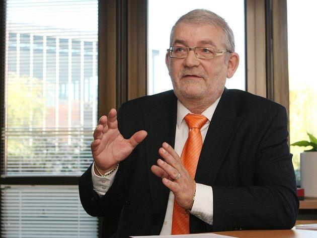 Ekonomický náměstek výstaviště Egbert Zündorf žije v Brně už čtrnáct let a považuje se za Brňana.