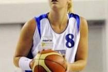 Nová posila basketbalového Valosunu Eva Kmeťová.