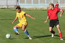 FC Slovan Rosice porazil RSM Hodonín 2:0.