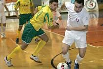 Futsalisté brněnského Tanga (v bílém Aleš Vlach).