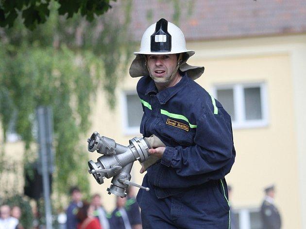 Soutěž hasičů v Pozořicích.