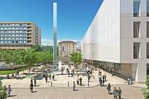 Vizualizace Janáčkova kulturního centra podle návrhu ateliéru M1.