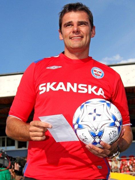 David Kostelecký v dresu 1. FC Brno.