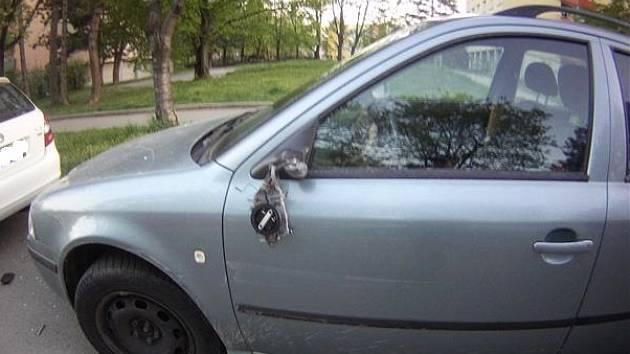 Opilý řidič boural o víkendu v Židenicích