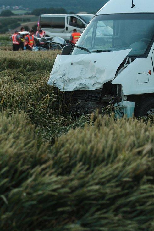 Tragická nehoda u Tvarožné.