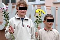 Do školy šli dnes i bratři z Kuřimi Ondřej a Jakub