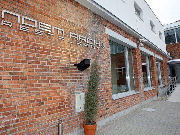 Noem Arch Restaurant.
