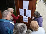 Voleb se tento týden účastnili i studenti Gymnázia Brno ve Vídeňské ulici.