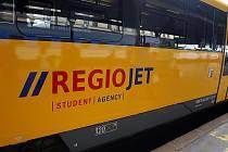 V pátek projely Brnem žluté vlaky Student Agency.
