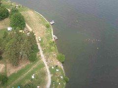 Na Brněnské přehradě v úterý krátce před jedenáctou hodinou utonul starší muž.