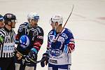 21. kolo extraligy: Plzeň - Kometa (modro-bílá) 1:2.