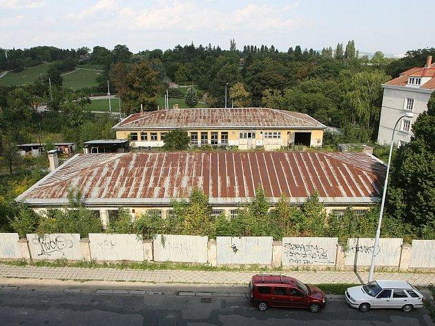 Bývalý armádní areál Wilson v Brně.