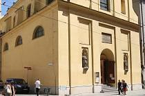 Kostel svaté Máří Magdalény v Brně.