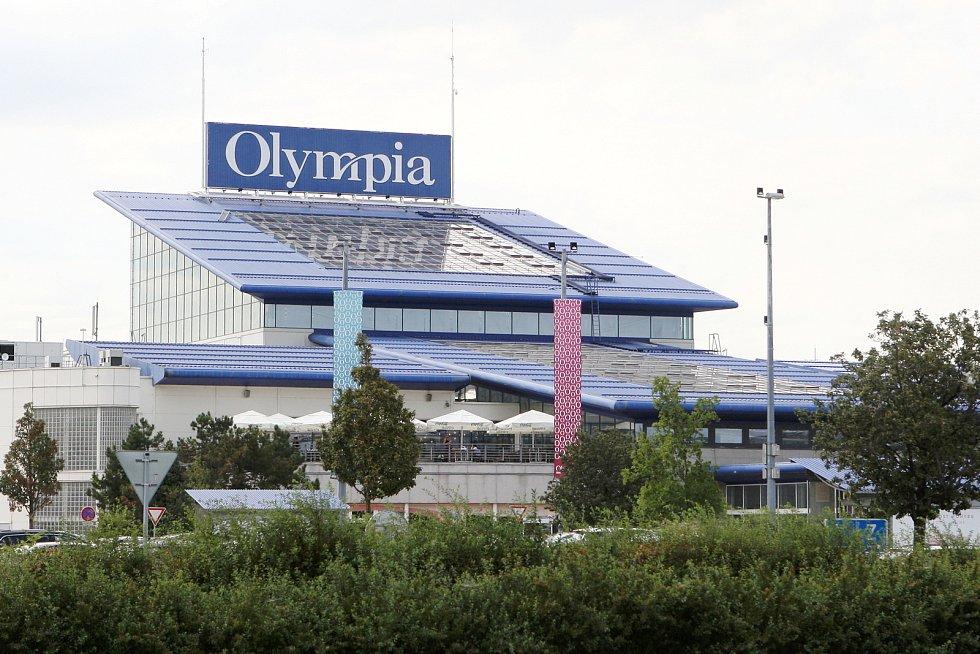 Brno 12.8.2019 - nákupní centrum Olympia Brno