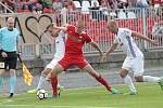 Domácí Zbrojovka prohrála s ostravským Baníkem v prvním zápase nové sezony 1:3.