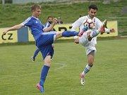 Fotbalisté Líšně výrazně oživili naději na záchranu ve třetí lize. V sobotu přidali po výhře 2:0 nad rezervou Olomouce další tři body.