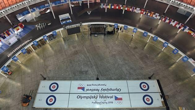 Brno pro Olympijský festival koupilo dvě dráhy na curling. Pokud přikoupí další dvě, vznikne u haly ve Vodově ulici hala pro curlingové tréninky.