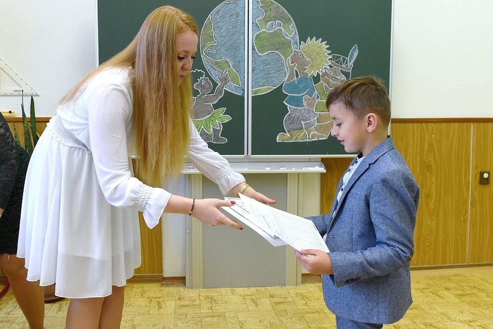 Brno 26.6.2020 - předávání vysvědčení v ZŠ Staňkova