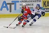 Hokejisté Komety Brno opanovali derby a Třebíči nasázeli šest branek.