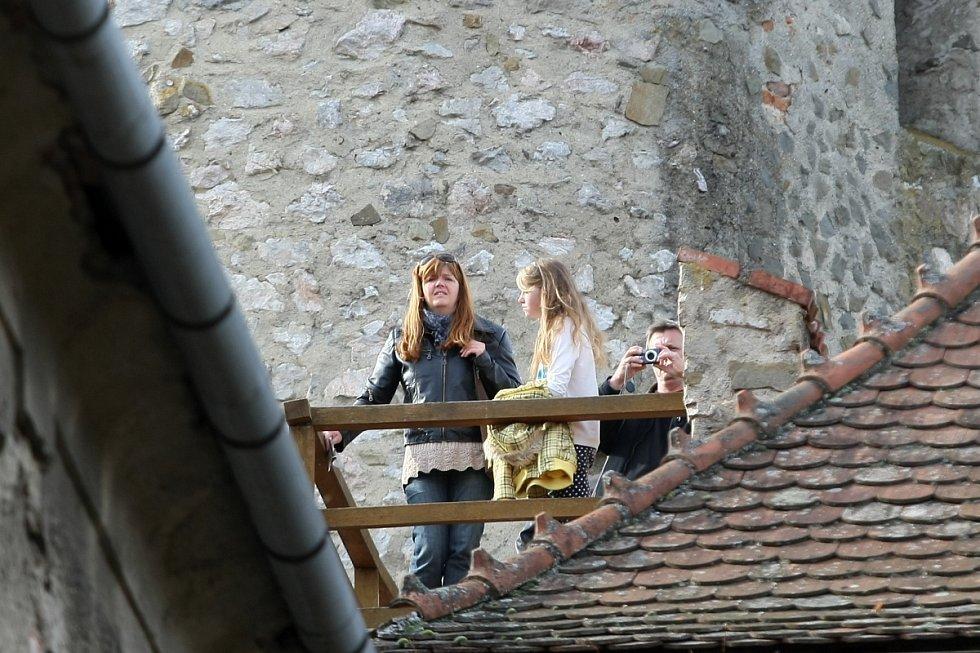 Poslední víkend na hradě Veveří.
