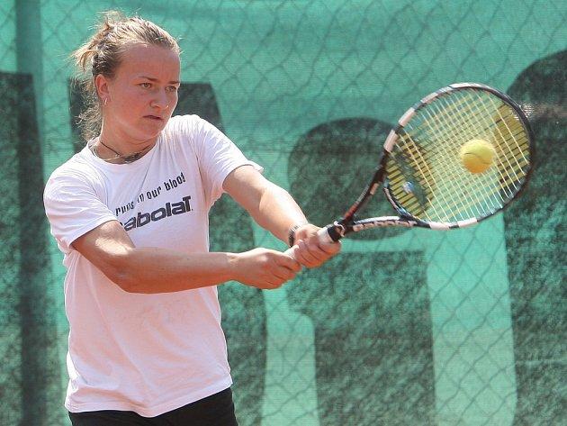 Brněnská tenistka Barbora Krejčíková.