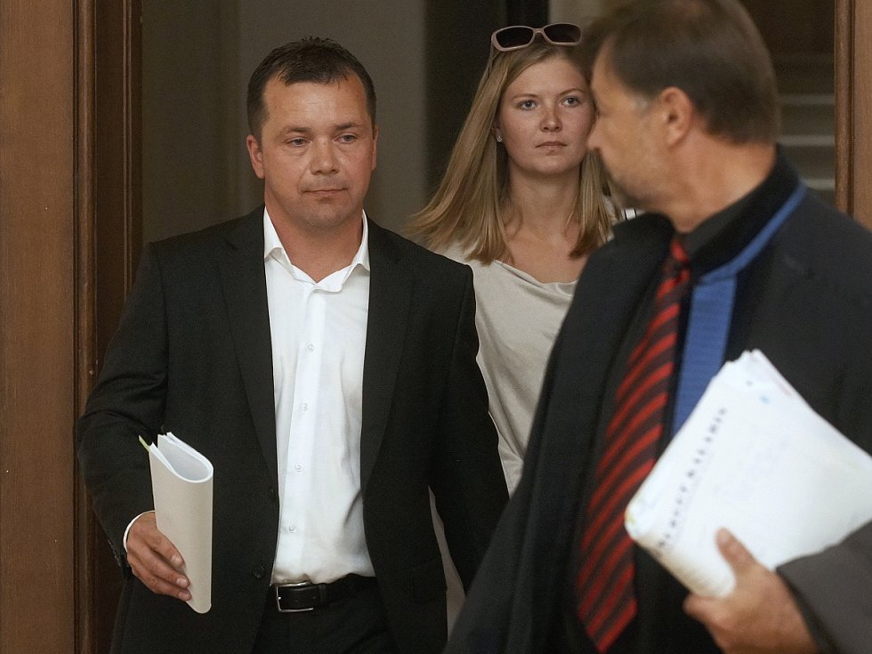 Robert Gottwald u Krajského soudu v Brně. Podle obžaloby nevrátil několikamilionovou půjčku.