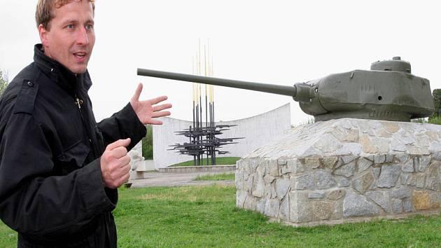 Jedním z nadšenců, kteří stavbu pomníku prosadili, je i Dan Urbánek.
