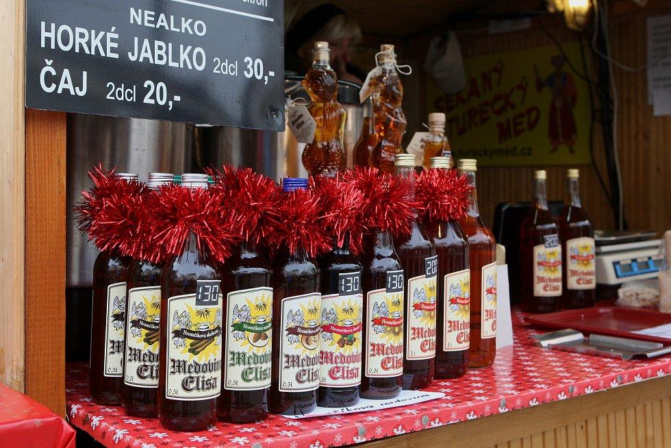 Vánoční trhy na Zelném trhu a Moravském náměstí.