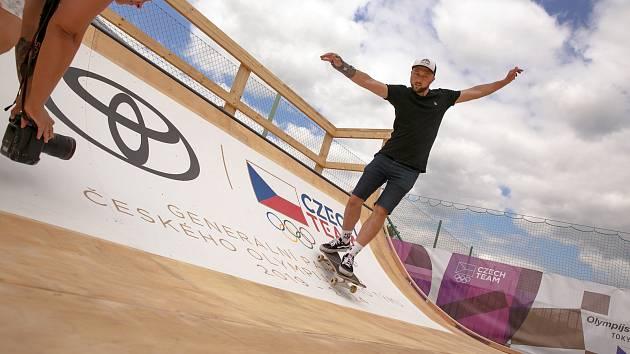 VPisárkách byl Olympijský festival. Skatepark se nyní přesune do Kohoutovic.