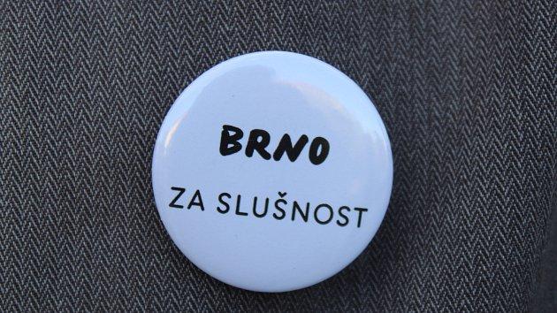 Protest za slušný stát: v Brně se připojili jako jediní v republice