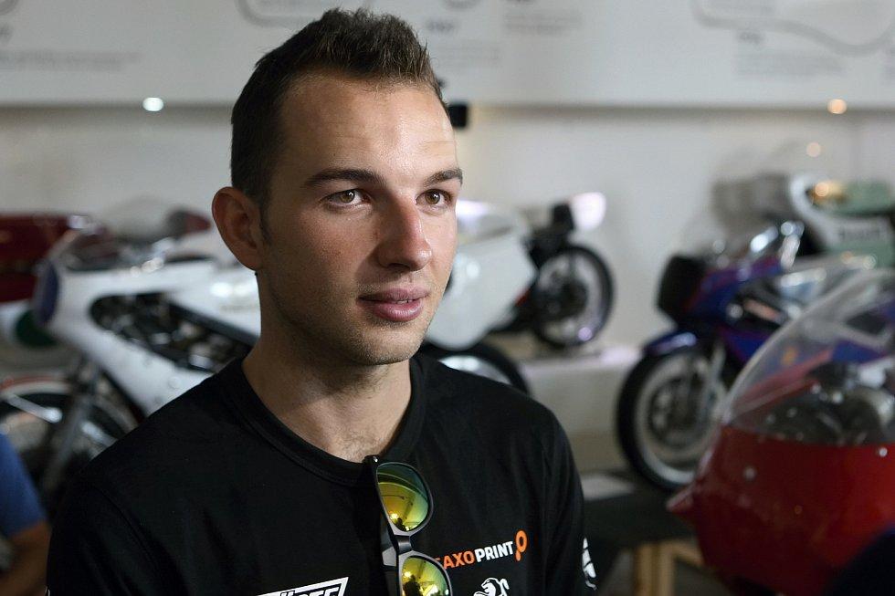 Tisková konference před Grand Prix 2017 v Brně - Jakub Kornfeil.