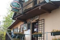 Restaurace U Jeroušků.