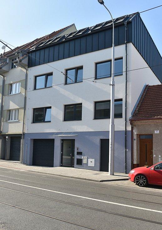 Bytový dům Valchařská 15 v brněnských Husovicích.