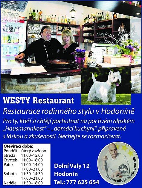 14. Westy restaurant Hodonín
