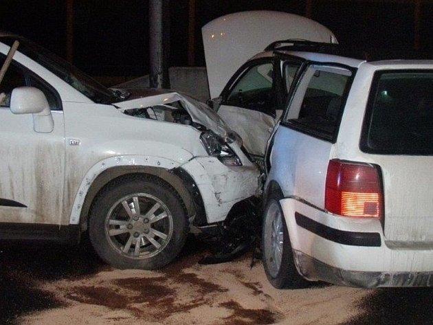 Dopravní nehoda na dálnici D1.