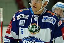 Tomáš Vondráček ještě v dresu Komety Brno.