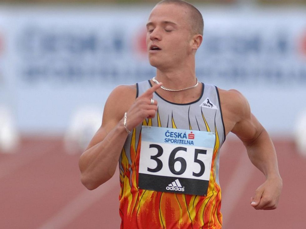 Sprinter Jan Veleba.