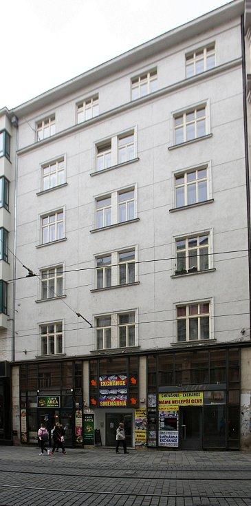 Dům určený ke směně za pozemky pro stavbu stadionů za Lužánkami - Masarykova ulice 14.