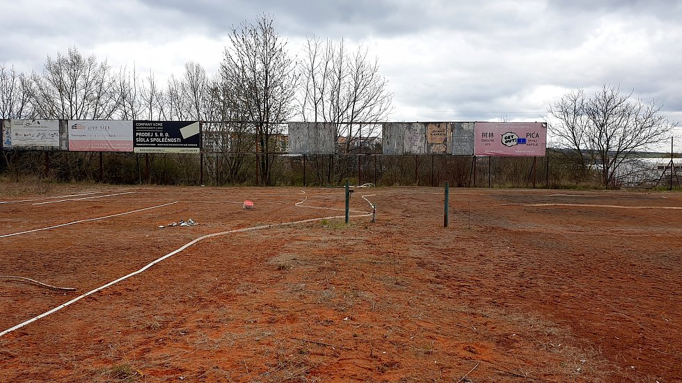 Lokalita mezi Bořetickou a Čejkovickou ulicí na brněnském sídlišti Vinohrady, kde chtěl soukromý investor postavit sportovně rekreační areál.