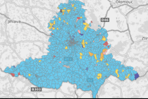 Jak volila jižní Morava v parlamentních volbách v roce 2017.