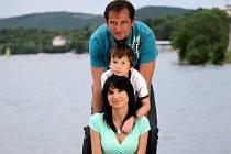 Poslední společná fotka spisovatelky Simony Monyové a jejího manžela Borise Ingra dva měsíce před vraždou.